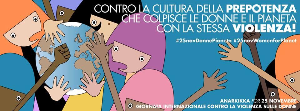 #25NovDonnePianeta