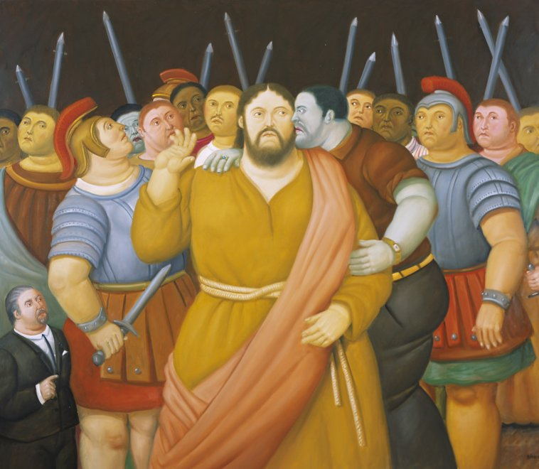 La Via Crucis di Botero al Palaexpo