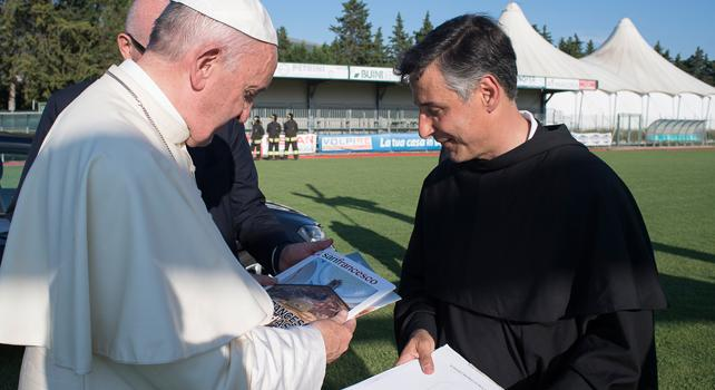 Papa ad Assisi per la terza volta | La gioia dei Vescovi umbri