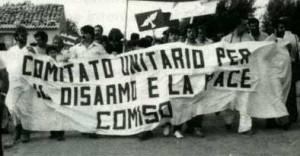 Tutti a Comiso, per la Pace e contro la mafia ricordando Pio La Torre