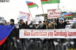 La Rai che trasmette l'Eurofestival ma ignora le proteste