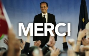 """Hollande Presidente della Francia con il 52%. E sul palco risuona """"Bella ciao""""!"""