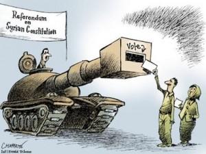 La farsa siriana