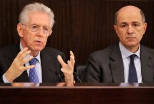 La flebo di Passera ridona colorito al Governo Monti