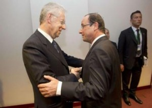 Pirlo, c'est à dire, il terzo incomodo tra Monti e Hollande