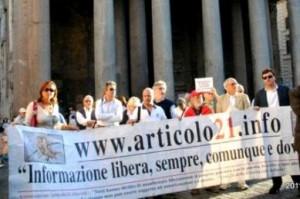 I territori. La sfida di Articolo 21 per la presenza in tutte le regioni italiane
