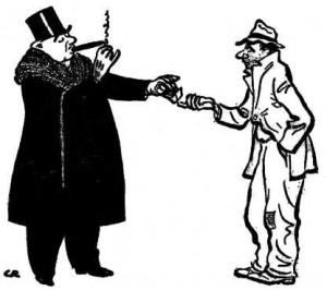 """""""Macelleria sociale"""" e guerra fra poveri"""