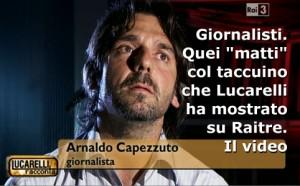 """Giornalisti. Quei """"matti"""" col taccuino mostrati da Lucarelli"""