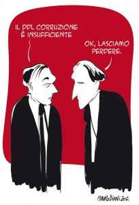 """""""Appello Civile – Per l'approvazione della Legge Anti-corruzione"""". Domenica 30 settembre a Roma"""