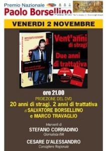 XVII Premio Nazionale Paolo Borsellino. Dieci giorni per la Legalità, fino al 10 novembre