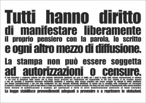 Nasce Articolo 21 Friuli Venezia Giulia. Il primo appuntamento a Trieste il 26 maggio