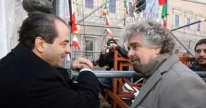 """Grillo – Di Pietro: """"presto sposi""""?"""