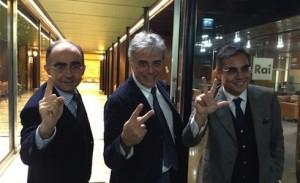Nomine Rai: Orfeo (Tg1), Leone (Rai1), Teodoli (Rai2), Vianello (Rai3)
