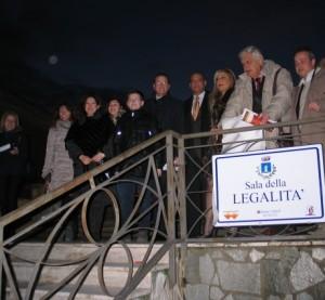 Sala della Legalità San Floro, proposta, promessa, inaugurata!
