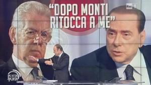 Berlusconi in tv, spettacolo tristemente osceno