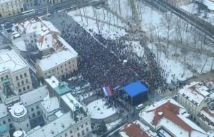 Le due Slovenie e le minacce golpiste di Janša