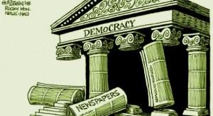 Il diritto all'informazione e il dovere di darla sono l'essenza della democrazia