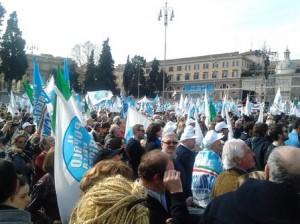 Non sottovalutiamo la manifestazione di piazza del popolo con Berlusconi