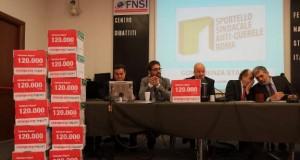 """Consegnate al presidente della Camera Boldrini 120mila firme a sostegno di Report e contro le """"querele temerarie"""""""