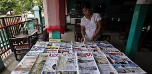 Nuovi quotidiani in Birmania.Fragile ma importante cambiamento