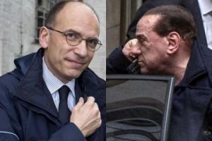 In onda l'esordio del governo Letta-Berlusconi