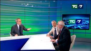 """Il """"miracolo"""" di Mentana: M5S e Pd si parlano in Tv"""