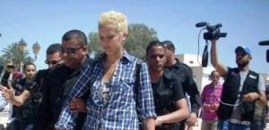 Si chiama Amina Tyler, non ha neppure vent'anni, e ieri è stata arrestata in una manifestazione