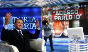Toh, Berlusconi in Tv!