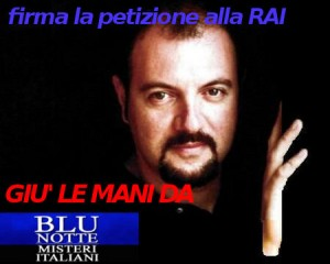 Blu Notte, giù le mani dal programma di Carlo Lucarelli