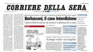 Taci, Corriere, la toga ti ascolta!