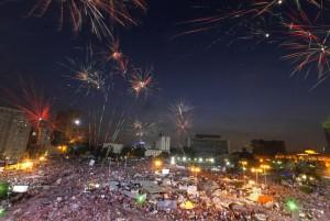 Il golpe e i fuochi d'artificio