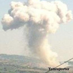 Pescara, esplode un capannone di una fabbrica di fuochi d'artificio