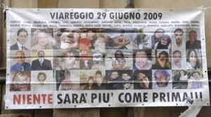 """Strage Viareggio. I familiari: """"La verità, di fronte a 32 vittime, non si può e non si deve MAI occultare"""""""