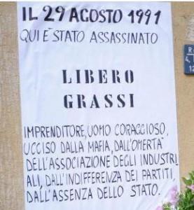 """""""E' questione di dignità e di mercato"""", Libero Grassi, 22 anni fa"""