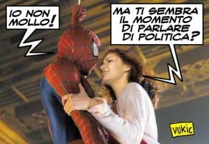 Spiderman e la politica
