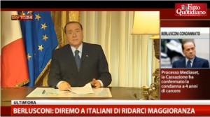 Berlusconi: grazie alle Tv comanderà sempre lui