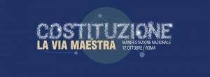 Costituzione, via maestra. Roma, 12 ottobre