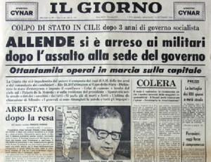 A 40 anni dal golpe cileno
