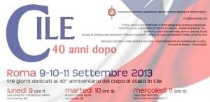 Cile, 40 anni dopo. Roma, 9–10–11 settembre. Fondazione Archivio Audiovisivo del Movimento Operaio e Democratico