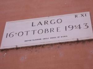 Anniversario del rastrellamento del ghetto di Roma, solidarietà della Fnsi alla Comunità ebraica