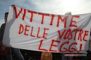 L'indignazione degli eritrei davanti Montecitorio