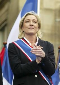 Parla Marine Le Pen: fuori dall'euro e dalla Nato