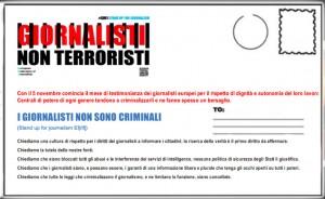 """Informazione: Cerrato (Casagit), """"basta persecuzioni contro giornalisti. Aderiamo ad appelli Articolo21, Fnsi, Efj"""""""