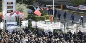 Sgomberata con la forza la tv greca Ert. Episodio gravissimo. Intervenga la Ue