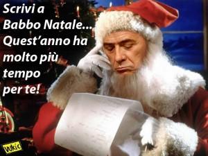 Scrivi a babbo Silvio Natale