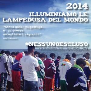 """#nessunoescluso, """"illuminiamo le Lampedusa del mondo"""". L'appello congiunto dei siti sanfrancesco.org e articolo21.org"""