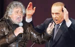 Beppe e Silvio uniti nella lotta