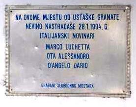 Quel venerdì 28 gennaio 1994 quando un colpo di mortaio uccise una troupe della sede Rai di Trieste
