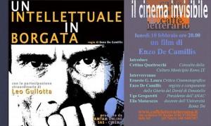 """""""Un intellettuale in borgata"""", il 10 febbraio la presentazione del film su Pier Paolo Pasolini"""