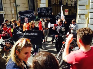 Media: a Roma successo per la manifestazione su libertà di stampa in Turchia